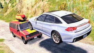 Slow Motion Crashes #4 - BeamNG Drive