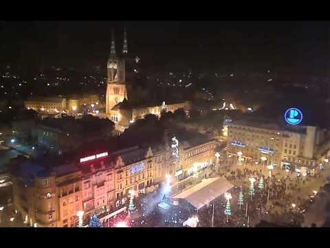 Nova Godina Zagreb doček - New Year's Eve Zagreb