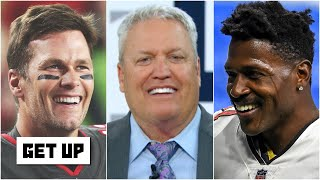 Rex Ryan commends 'the GOAT' Tom Brady & the 'brilliant' Bucs for getting Antonio Brown | Get Up
