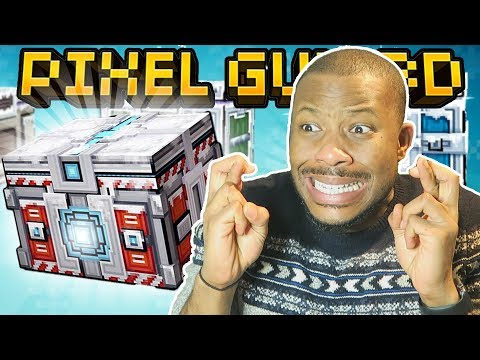 OMG! CHRISTMAS SUPER CHEST OPENING!! | Pixel Gun 3D