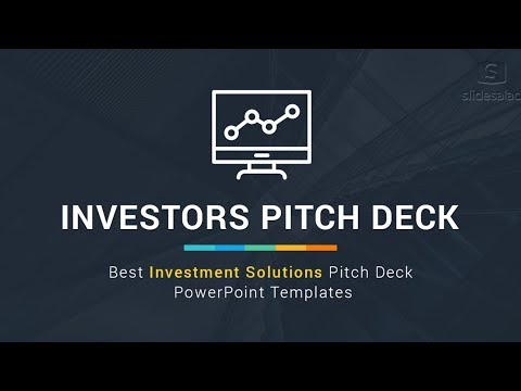 Best Investors Pitch Deck – Investment Proposal PowerPoint Templates