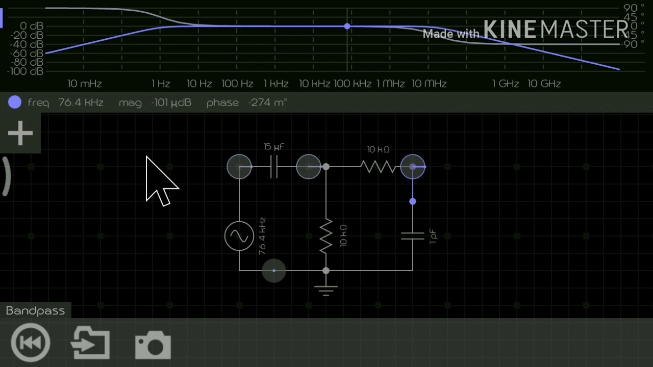 Bandpass filter (in tamil)