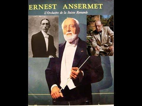 Stravinsky:Petrouchka(BalletSuite)Ernest Ansermet&L'Orchestre De La Suisse Romande-monoLp-c.1949