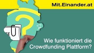 Mit.Einander.at - Wie funktioniert die Crowdfunding Plattform?