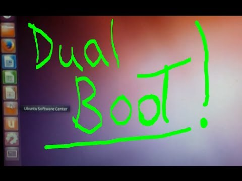 "Easy Way to Dual Boot Linux Ubuntu on Windows PC ""install 2 operating systems"""