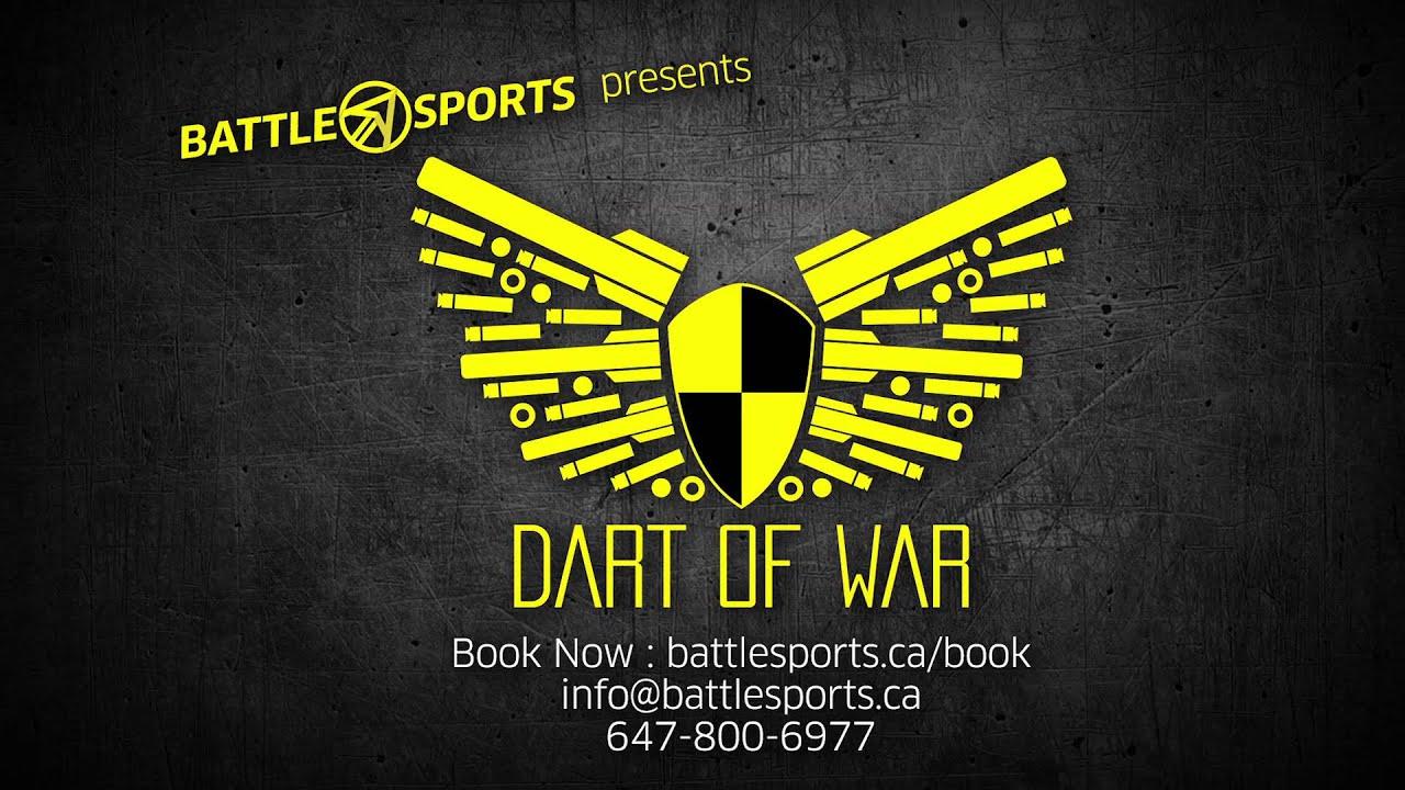 Dart Of War Nerf Wars Arena Youtube