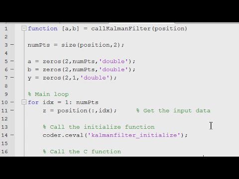 Unit Testing C Code Using MATLAB and MATLAB Coder