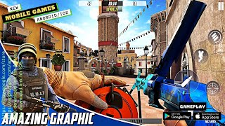 Hazmob FPS: Online multiplayer fps shooting game Gameplay | Mobile Games | New Games 2021