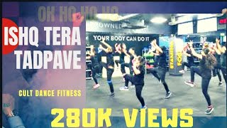 Ishq Tera Tadpave   Zumba   Dance Fitness Challenge   Cult   Cure Fit  