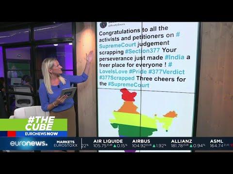 #TheCube | India decriminalises gay sex