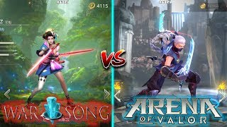 Arena of Valor VS War Song