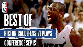 Best #CloroxDefense Plays Of The Conference Semifinals In Recent Years!