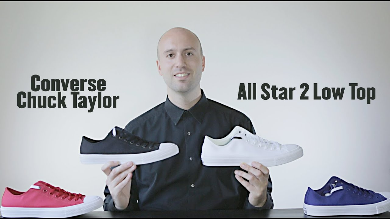becc6738388e 4 colors - Low Top - Converse Chuck Taylor All Star 2 Review + Unboxing +On  Feet - Mr Stoltz 2015