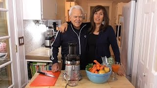 Jay & Linda Kordich Juicing With Kuvings Centrifugal Juicer
