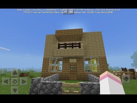 Minecraft Вика построила СУПЕР двухэтажный дом 😮