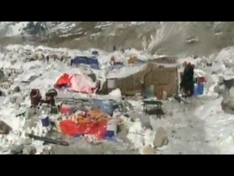 NDTV's exclusive coverage of destruction at Everest base camp right after avalanche