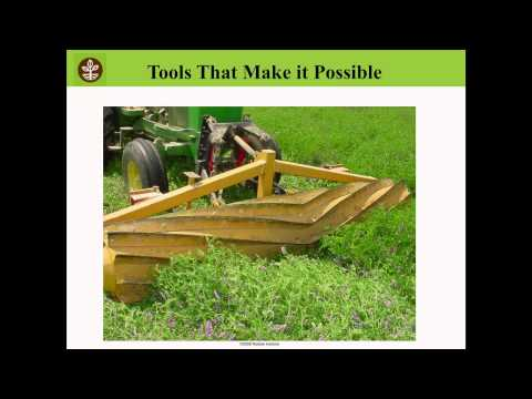 Terminating Cover Crops for Maximum Benefits - Jeff Moyer