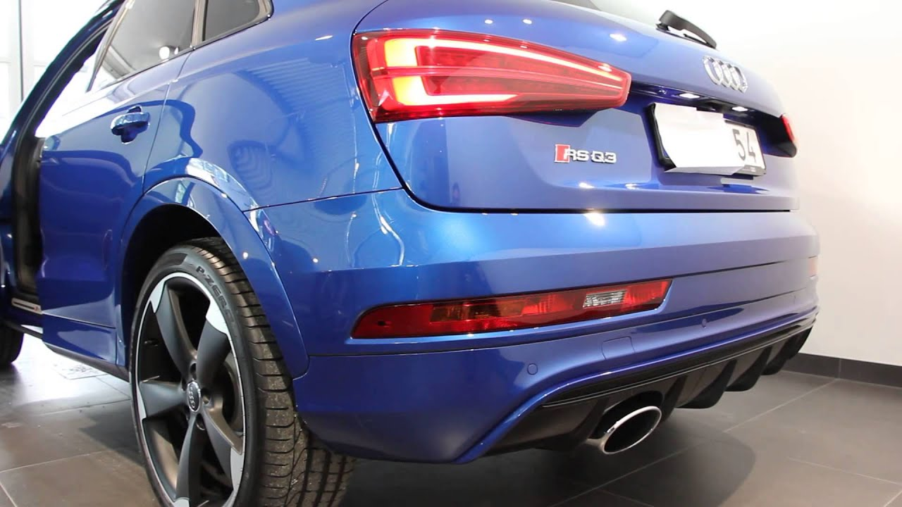 2016 Audi Rsq3 340ps Start Up And Rev Brutal Sound Youtube