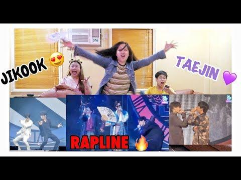 BTS PROM PARTY: UNIT STAGE Reaction 😱🔥 DDAENG RAPLINE, JIKOOK Black or White & TAEJIN! 💜