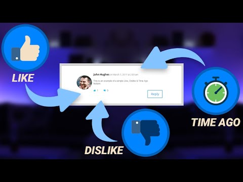 PHP Like & Dislike Rating System With Time Ago Feature [YouTube Clone] thumbnail