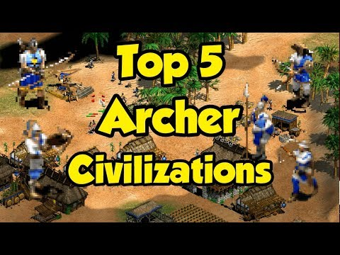 Top 5 Archer Civilizations in AoE2