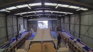 Construction timelapse of the Outremer 45' La Vagabonde