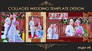 Elegant Inspiration Collages Album Wedding Photoshop Part 2