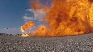 Experiment tabung gas  12kg di tembak wooww lihat apa yang terjadi