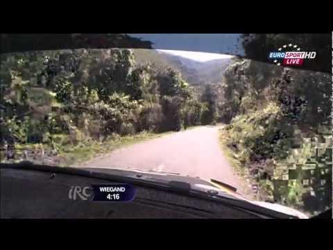 IRC Rally Tour de Corse 2012 - SS10 Live