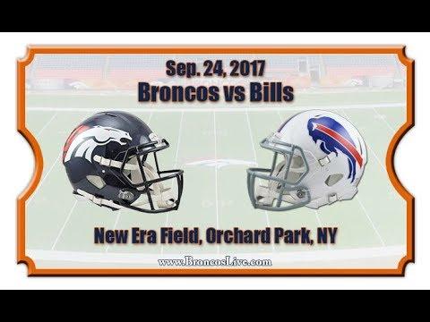 Denver Broncos vs Buffalo Bills