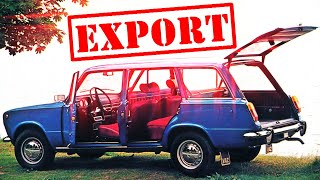 Экспортные ЖИГУЛИ ВАЗ-2102 и ВАЗ-2104 | авто_ссср #83