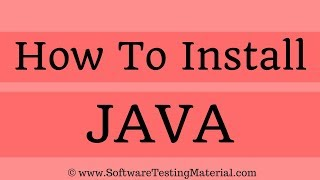 Gambar cover How To Install Java On Windows 10