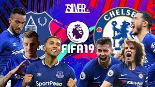 FIFA 19 - เอฟเวอร์ตัน VS เชลซี - พรีเมียร์ลีกอังกฤษ[นัดที่30]