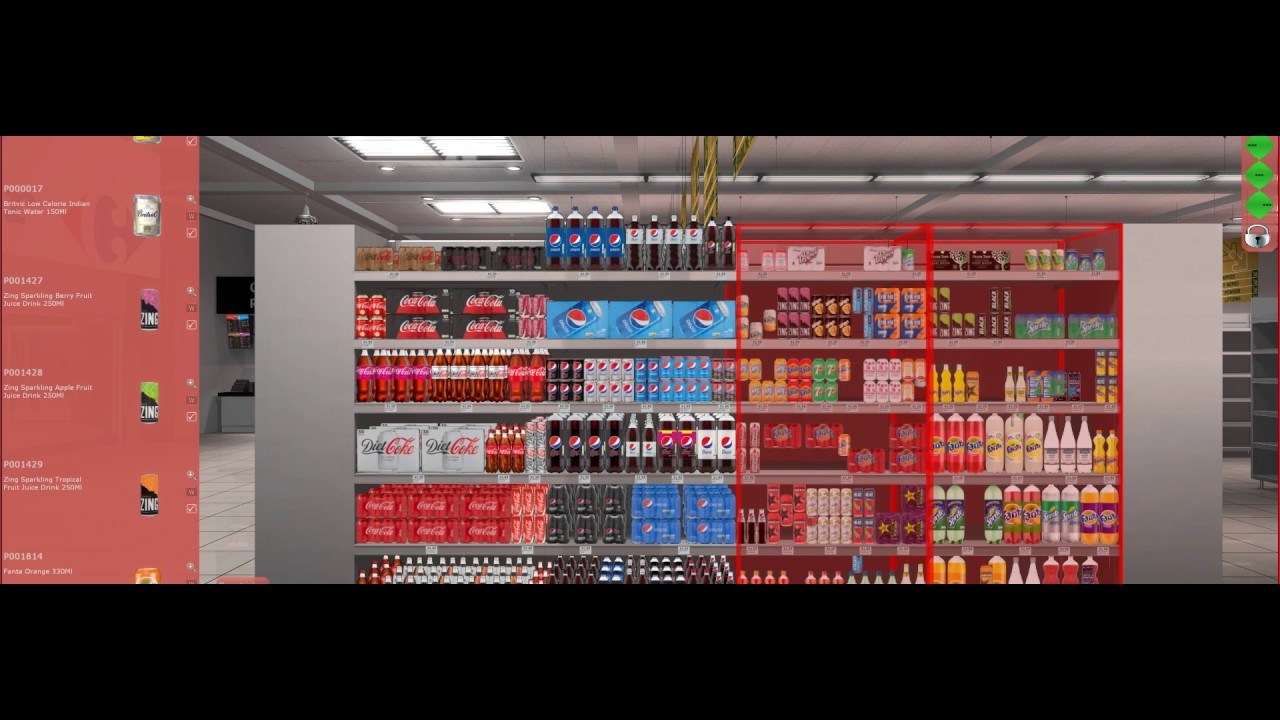 Buzz 3D Planogram Virtual Store Editing, 3D Space Planning and Virtual  Store Design