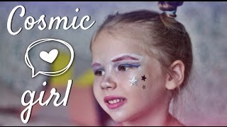 Galaxy Space Makeup || Halloween || Космический макияж