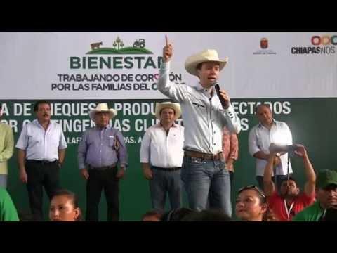 GOBERNADOR ENTREGA INSUMOS AGROPECUARIOS EN SABANILLA CHIAPASиз YouTube · Длительность: 3 мин6 с