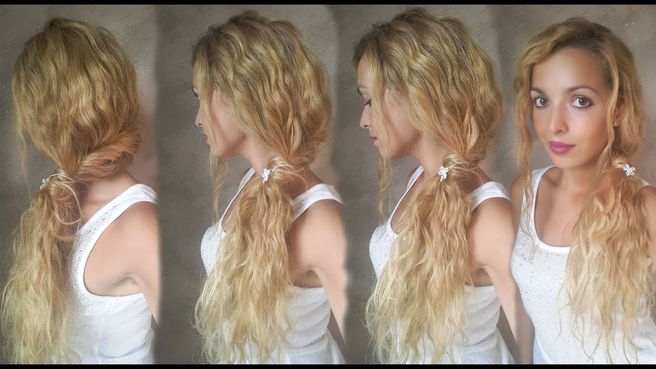 Conosciuto Acconciatura morbida per capelli ricci e mossi - YouTube GM49