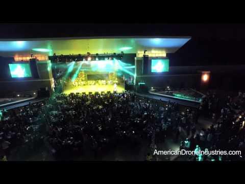 Pepsi Funk Fest 2015 - Wolf Creek Amphitheater - filmed by American Drone Industries