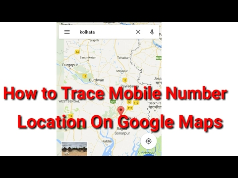 How to track any mobile number location on Google maps