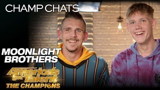 Moonlight Brothers Recall Their First Reaction To The Judges - America's Got Talent: The Champions