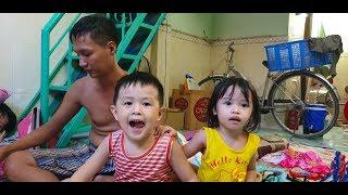 Mẹ ung thư mất sớm, để lại 3 đứa trẻ mồ côi cho người anh họ bị tai biến