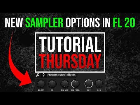 FL Studio 20 Sampler - FL Studio 20 Sampling Tutorial - Tutorial Thursday EP4