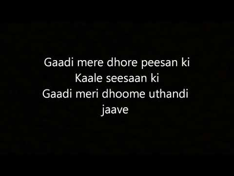 Gaadi - Pardhaan Ft. Bohemia (Full Song With Lyrics)