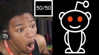 Etika does the Reddit 50/50 Challenge *CENSORED*