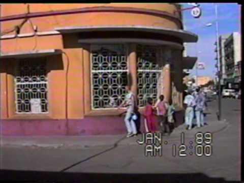Angola Video, Lubango City - Peacekeeping Mission - Dej -Romania - Bistrita 1996 (video by Paul B.)