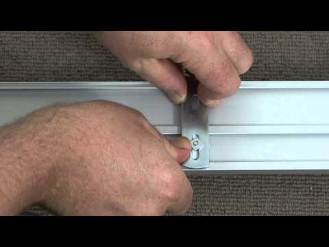 How To Install Panel Blinds