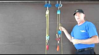Rope and Pulley Systems: Segment 7 - Two, 3:1 Configurations and Some General Concepts pds.m2ts