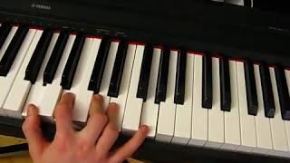 Блюзовые фишки #5 [самые классные приёмы блюзового фортепиано]