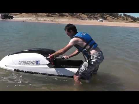 Learning How To Ride A Stand Up Jet Ski - Everybodys First Time Is Awkward!!
