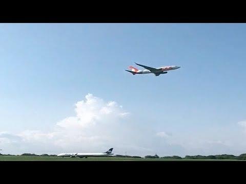 Avião arremete ao pousar em Noronha para evitar colisão com outra aeronave